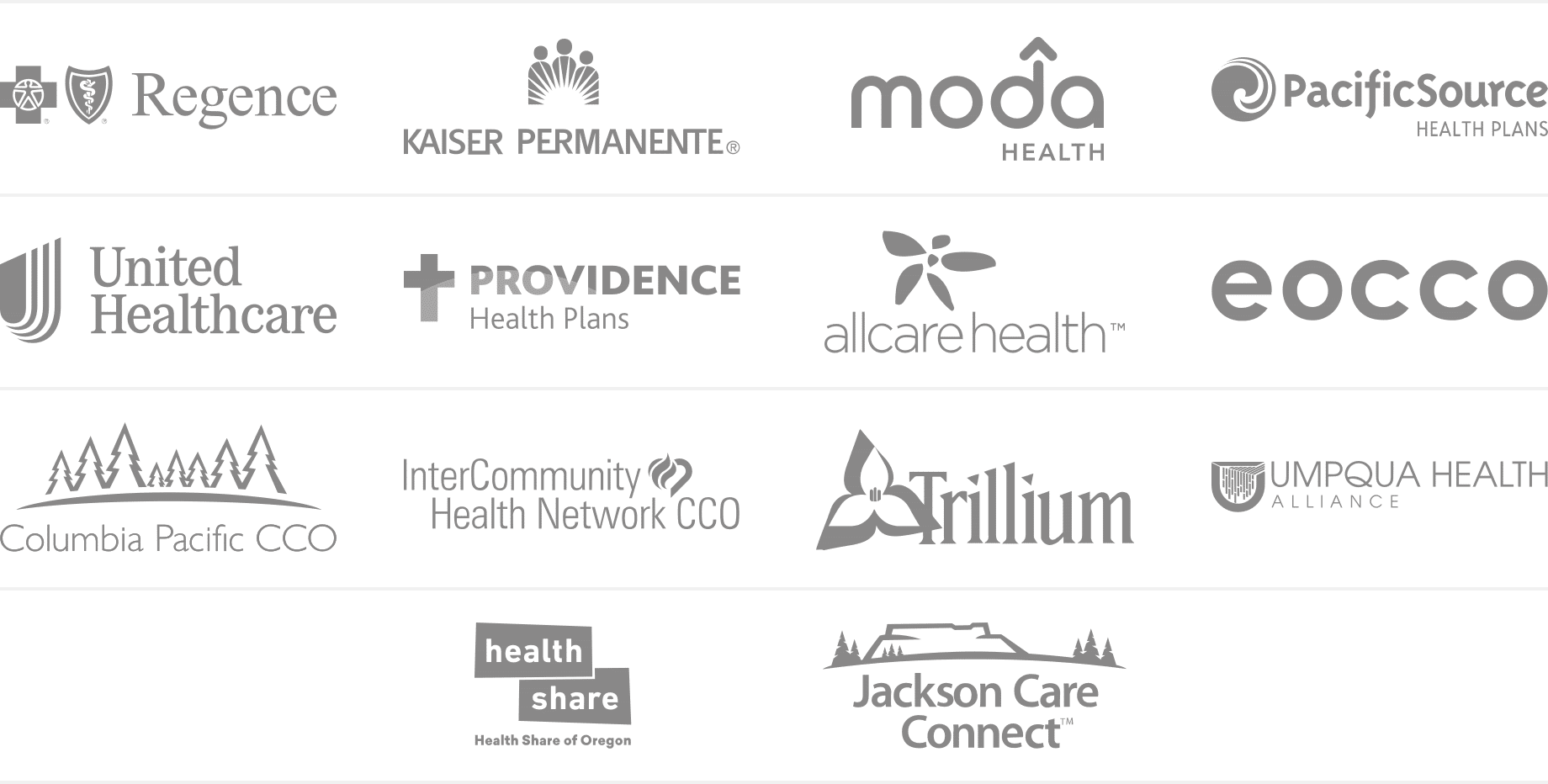 Accepted Insurance Companies